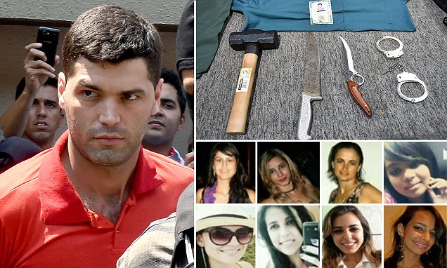 Alleged serial killer Tiago Gomes da Roc
