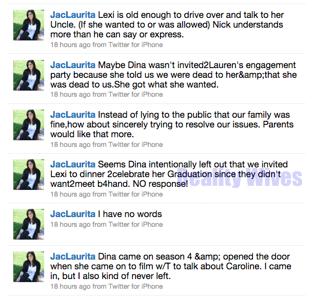 Jacqueline Laurita-nov-tweets