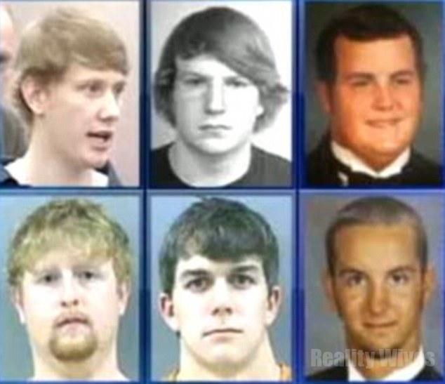 Deryl Dedmon, John Rice, Dylan Butler, William Montgomery, Jonathan Gaskamp-Joseph Dominick-murderers