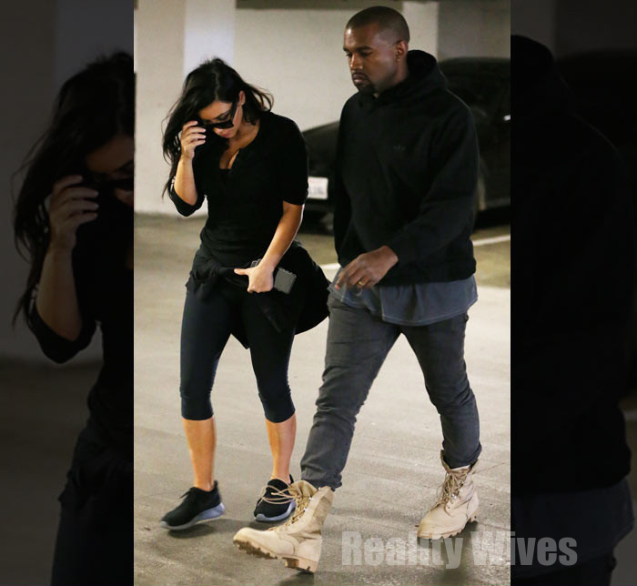 kim-kardashian-kanye-west-walking