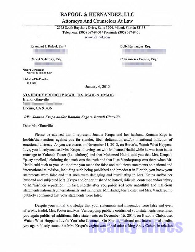 Joann Krupa-lawsuit