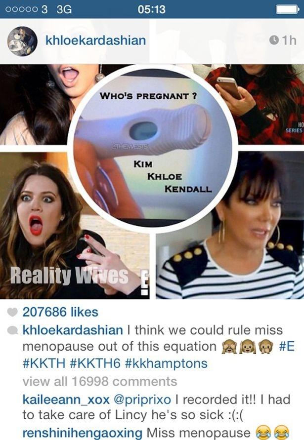 Khloe-Kardashian-Instagram-pregnant