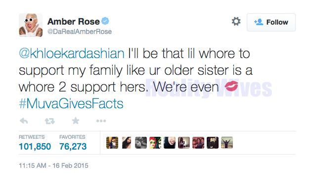 Amber Rose-tweets-Khloe Kardashian-2