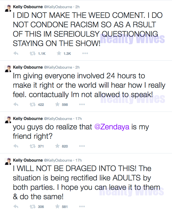 Kelly Osbourne-tweets