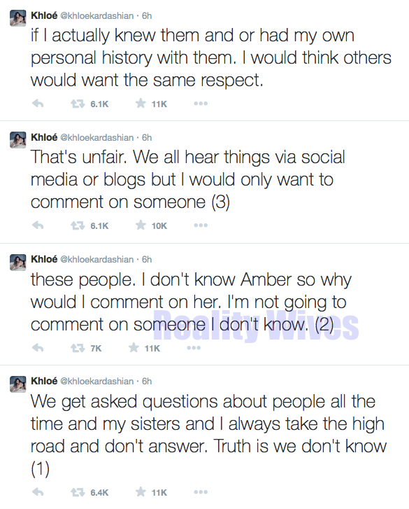 Khloe Kardashian-tweets-amber
