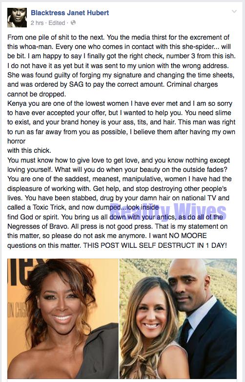 Janet Hubert-facebook-Kenya Moore