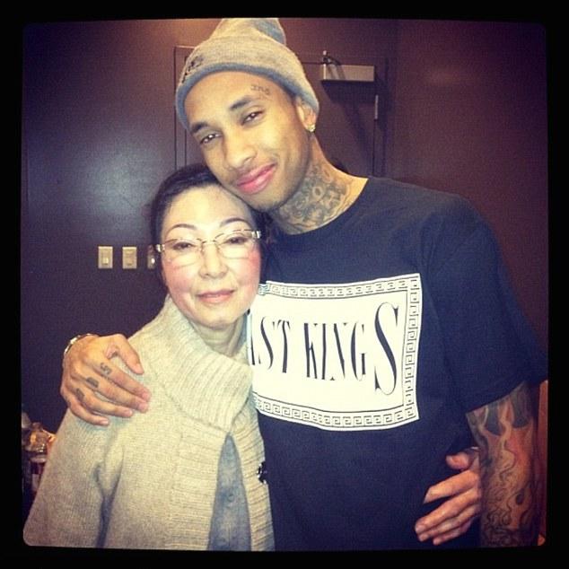 Kim Nguyen with her grandson Michael Nguyen-Stevenson