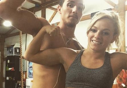 Mackenzie Douthit's workout