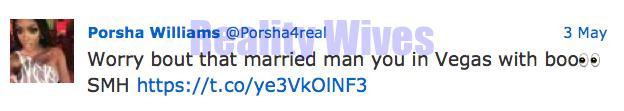 Porsha Williams-Kenya tweet