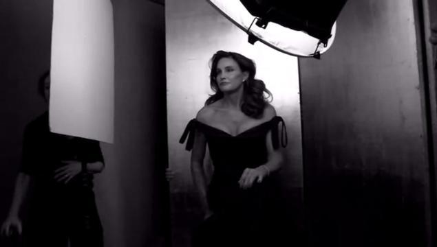 Bruce Jenner-caitlyn-black dress