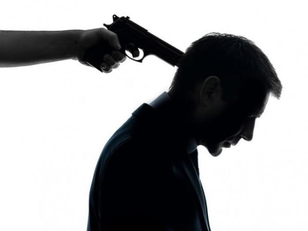 Gun to mans head-md