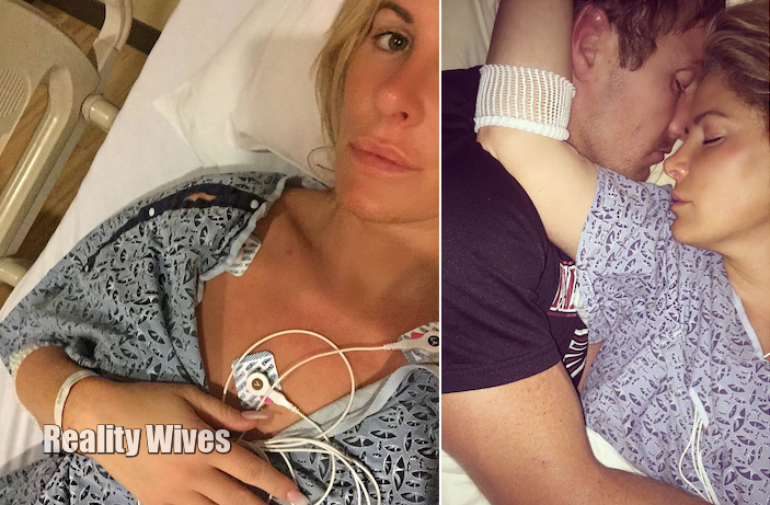 Kim Zolciak Biermann-Kroy Biermann-hostpital-wd