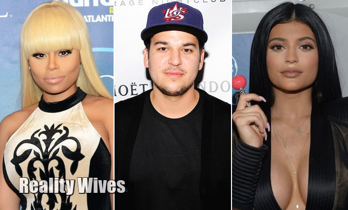 Blac Chyna, Rob Kardashian & Kylie Jenner