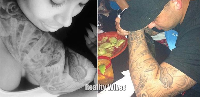 Blac Chyna-Rob Kardashian-tattoos