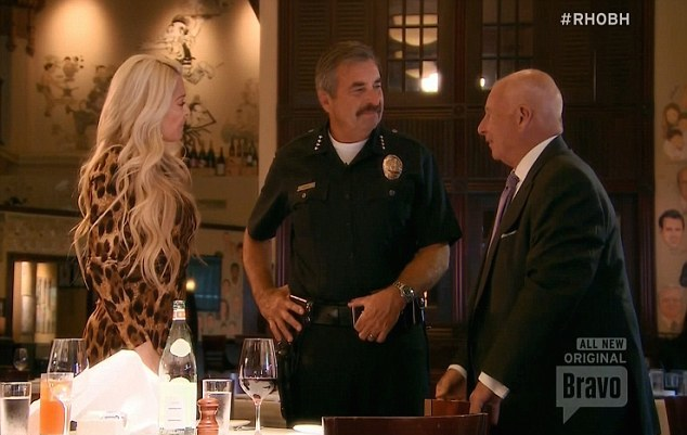 Erica & Thomas Girardi with LAPD Chief Charlie Beck