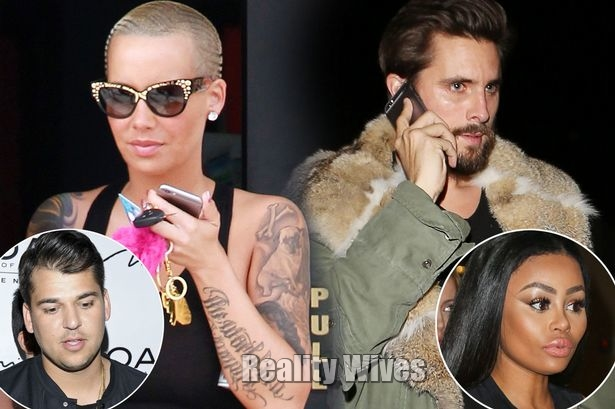 Rob Kardashian-Amber Rose-Scott Disick-Blac Chyna-wd