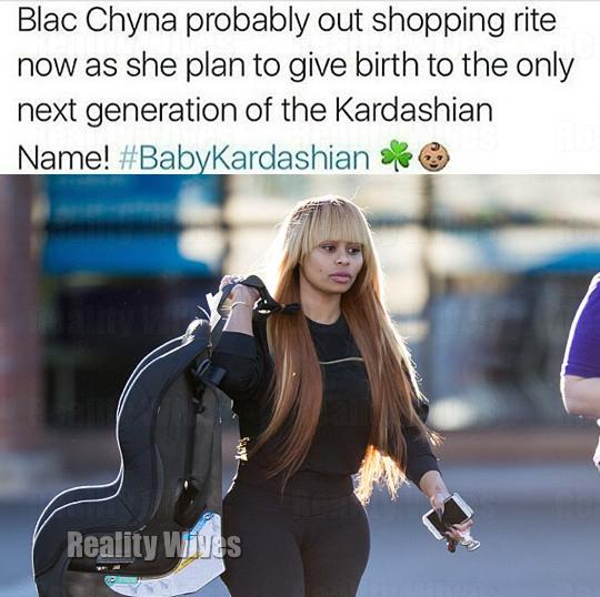 rob kardashian-blac chyna-meme