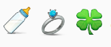 Blac Chyna-baby-ring-clover