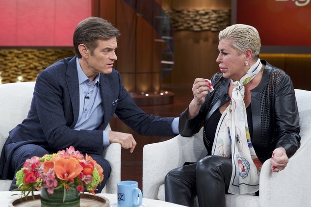 Dr Oz & Angela 'Big Ang' Raiola