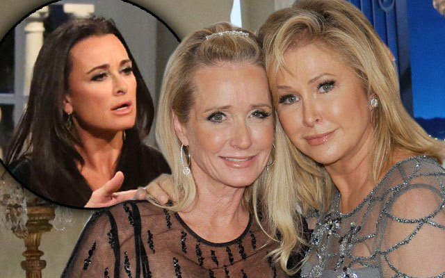 kyle-kim richards-kathy hilton-wd