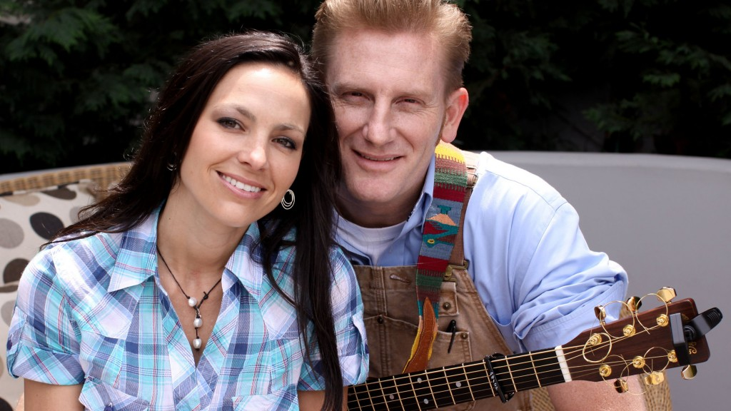 Joey Feek, &  Rory Feek, of the country music duo Joey + Rory,