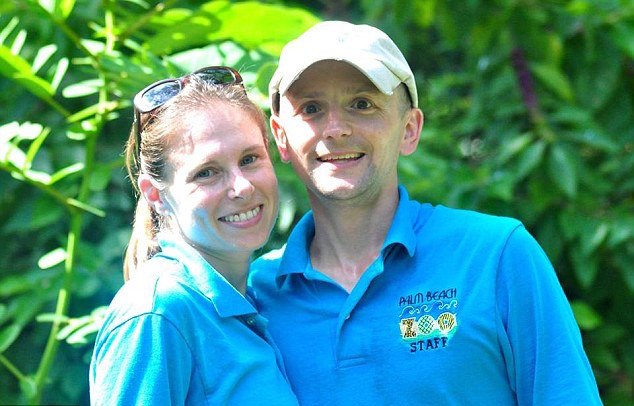Stacey, 38, pictured with her husband Jeremy Konwiser