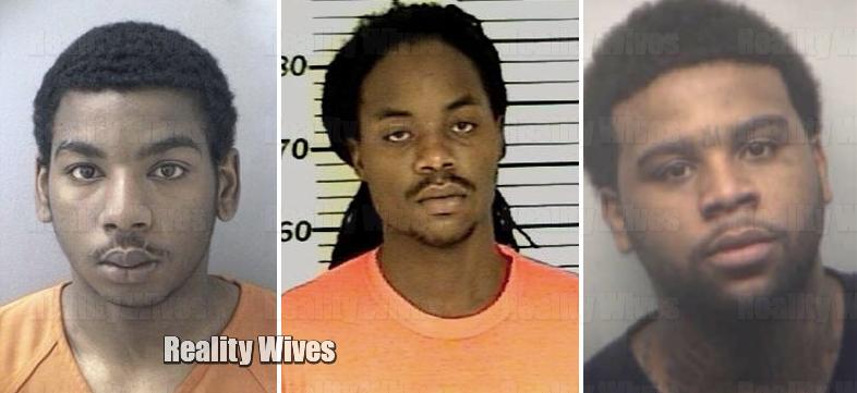 Alonte Smith, Melvin Floyd & Robert Silva Jr