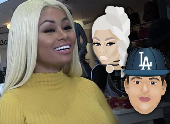 Blac Chyna_Rob Kardashian-emoji