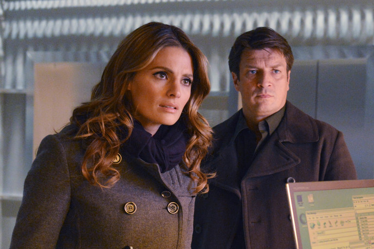 Castle-Stana Katic-Nathan Fillion