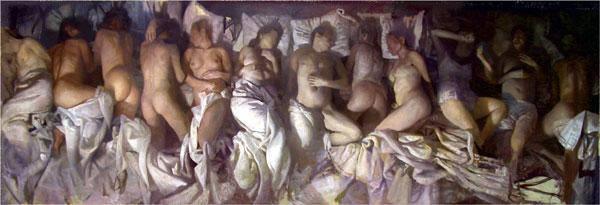 "Vincent Desiderio  ""Sleep"""