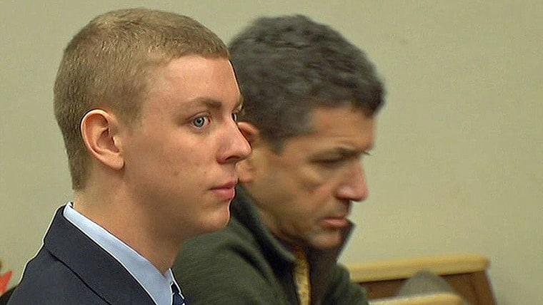 Brock Allen Turner in court