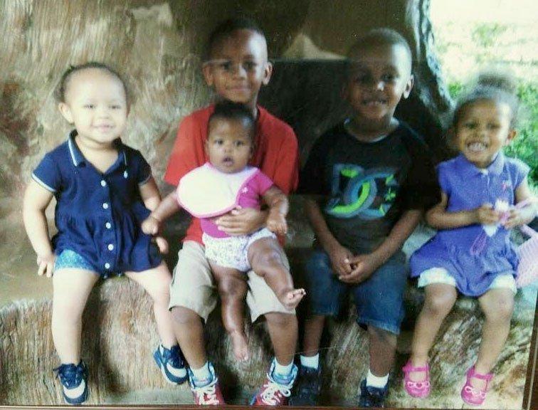Shanynthia Gardner's 5 children