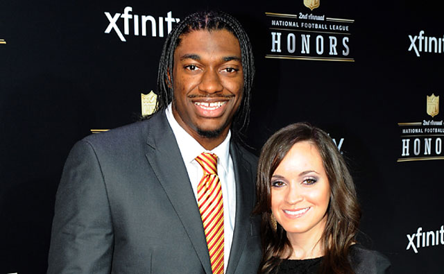 Robert Griffin III & Wife Rebecca Liddicoat Giffin