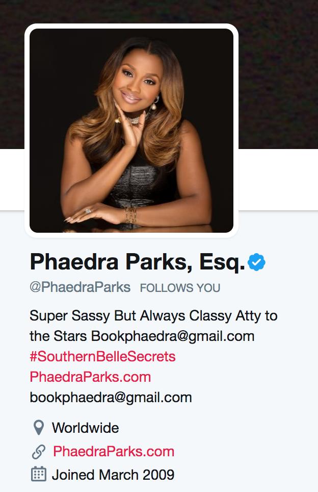 Phaedra Parks-twitter