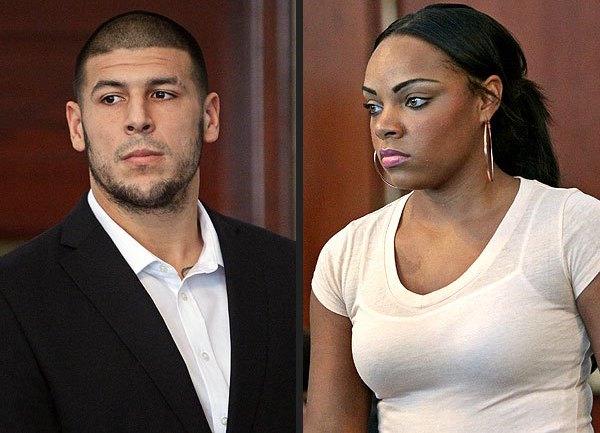Aaron Hernandez & Shayana Jenkins-Hernandez