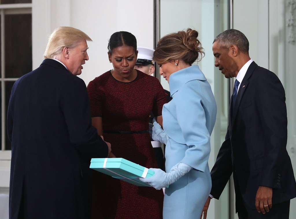 Melania Trump-gifts-Michelle Obama