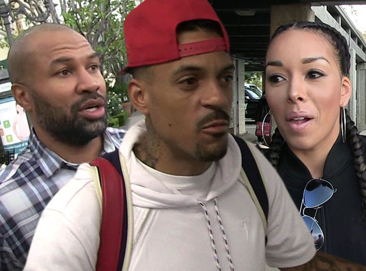 derek fisher-matt barnes-gloria govan