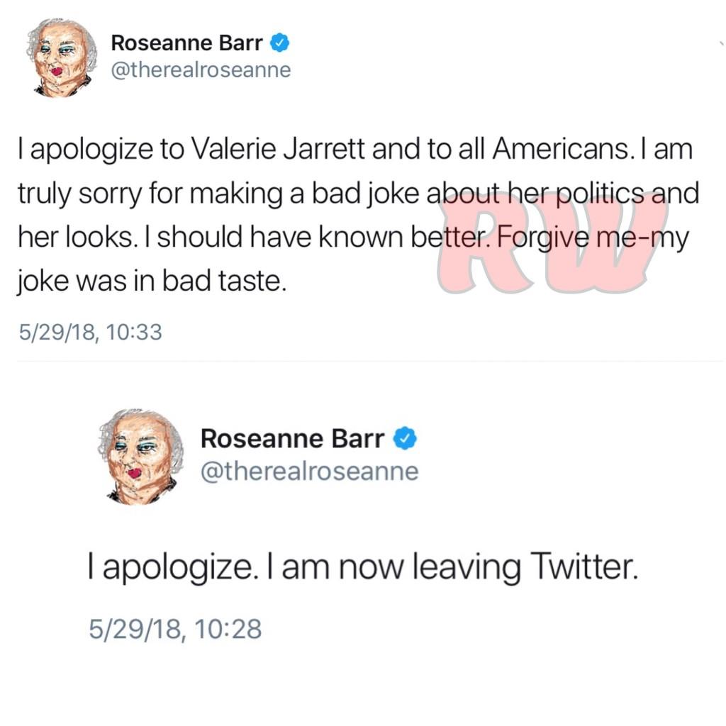 Roseanne Barr-apology