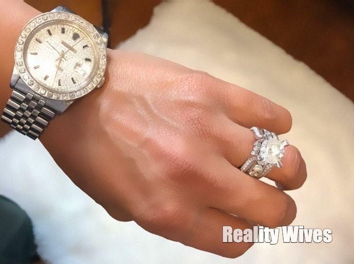 karlie redd-engagement ring