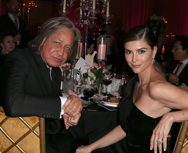 Fiancee: Hadid has been engaged to Second Wives Club star, Shiva Safai, 36, since 2013, although no wedding plans have been forthcoming