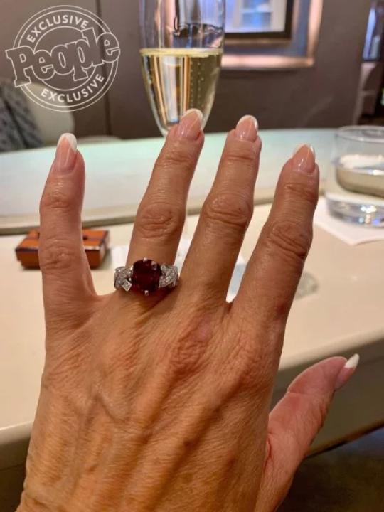 Danielle Staub-engagement ring