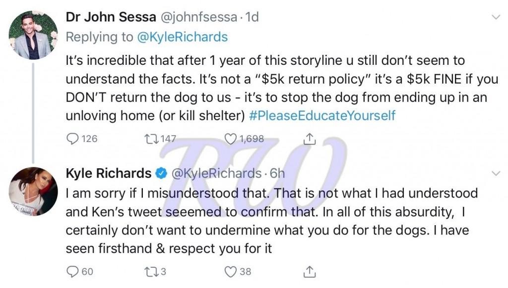 John Sessa-Kyle Richards-tweets-1
