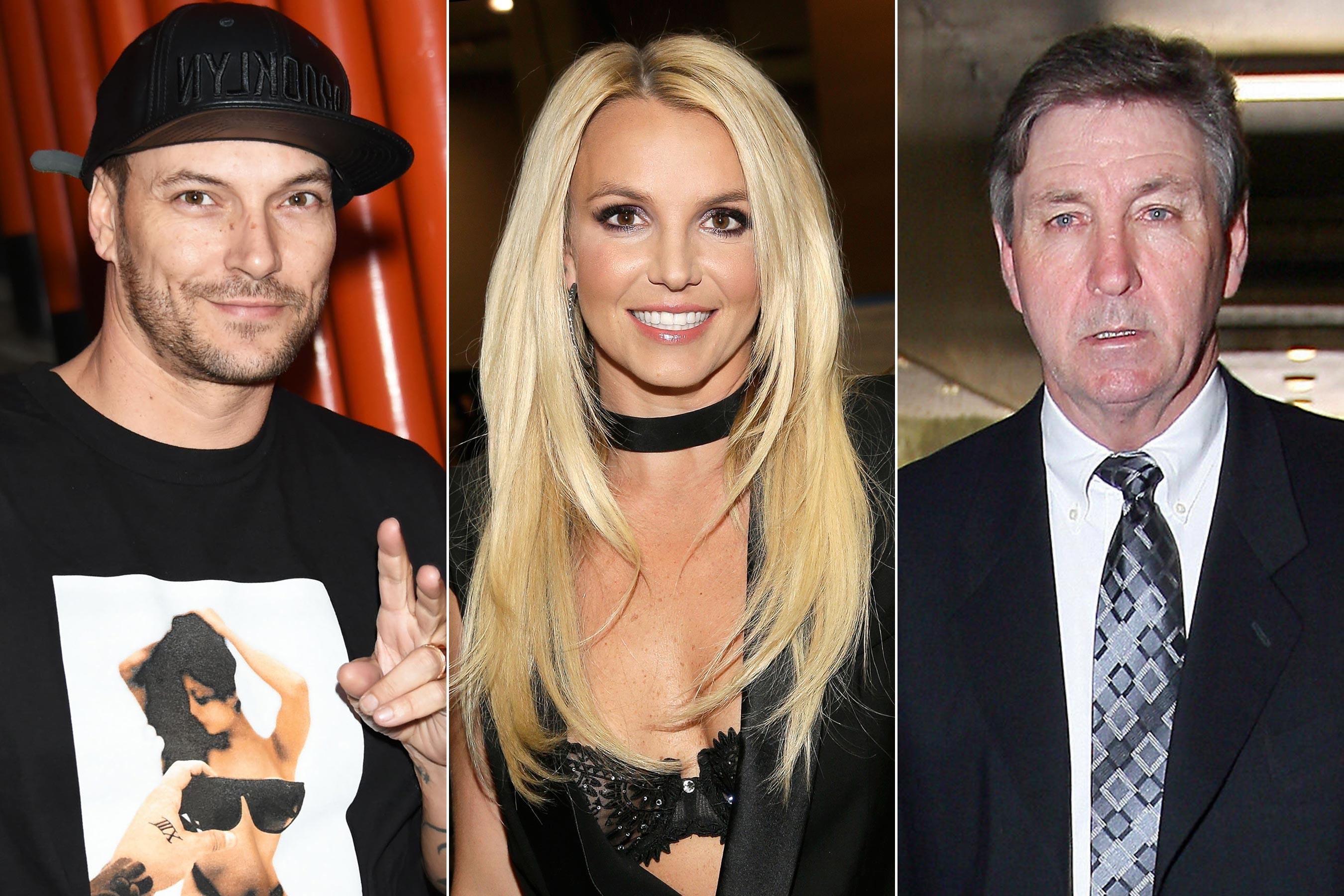 Kevin Federline-Britney Spears-Jamie Spears