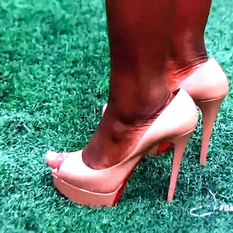 Ogom 'OG' Chijindu's big toe.