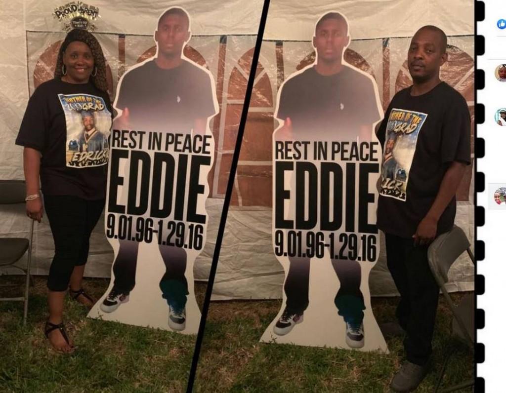 Shanica Harris and Eddie harris