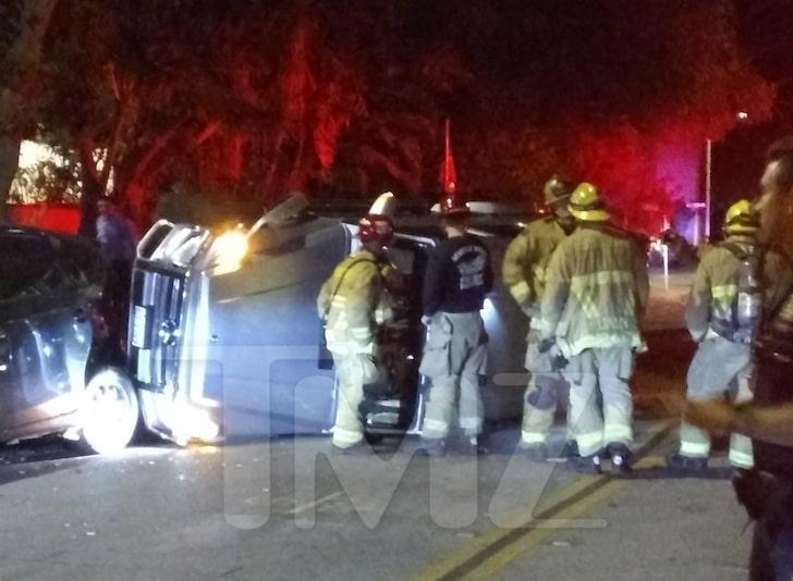 Lori Harvey-Car Crash