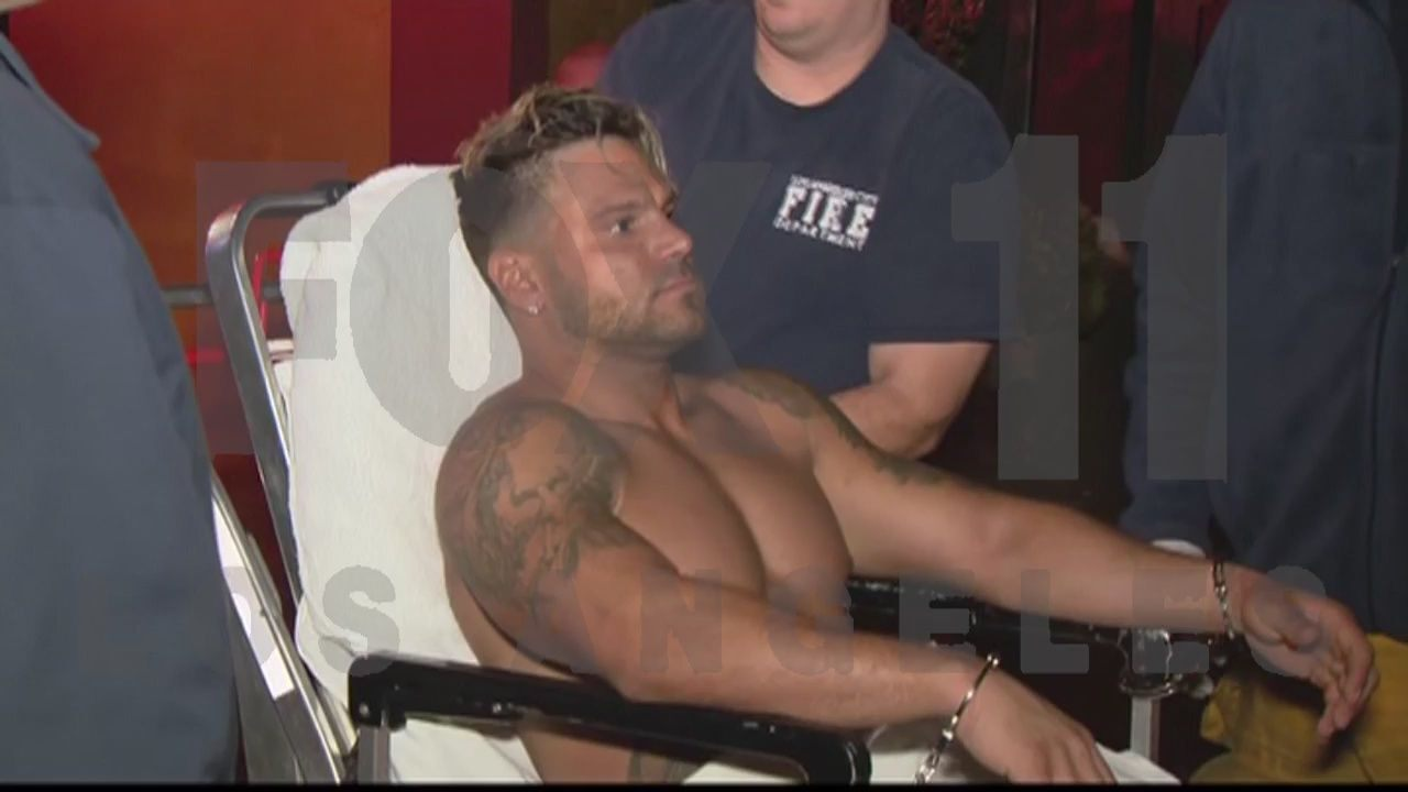 Ronnie Ortiz-Magro-arrested