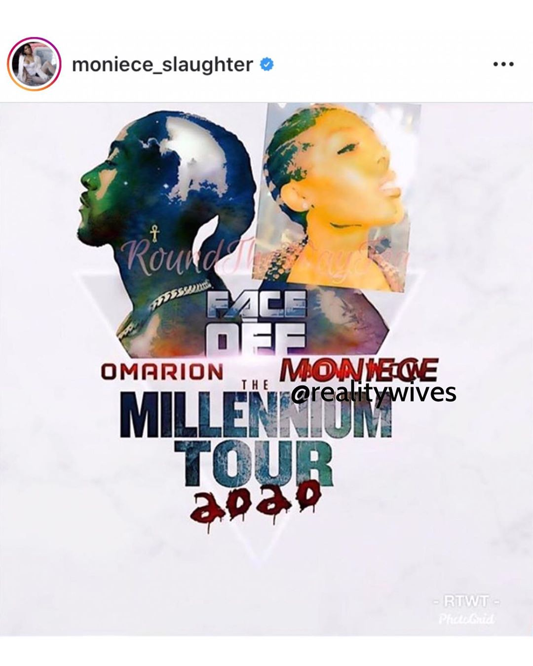Moniece-Millennium 2020 Tour