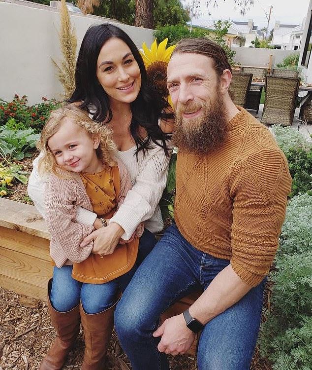 Birdie Bryan, Brie Bella & Daniel Bryan
