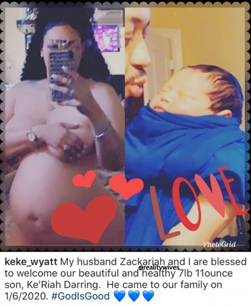 Keke Wyatt-baby
